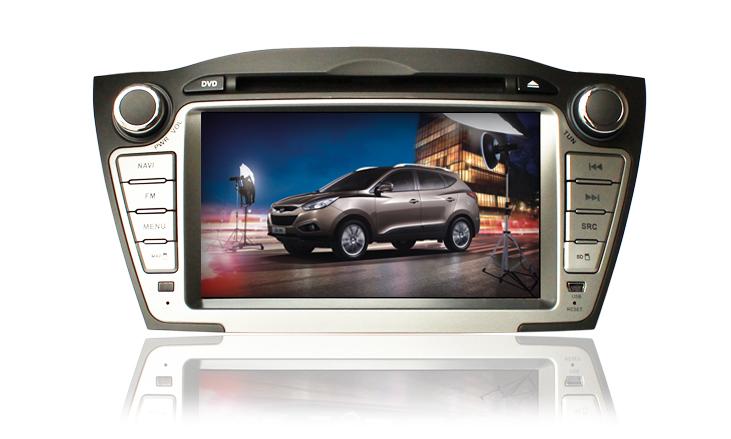 Hyundai IX35 - Ca-Fi. Штатное головное устройство на Android для Hyundai IX35