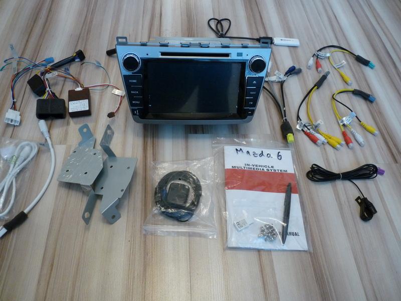 P1120075 - Innotrends Ca-FI. Штатное головное устройство на Android для Mazda 6 New