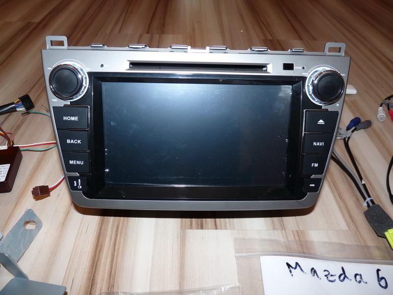 P1120076 - Innotrends Ca-FI. Штатное головное устройство на Android для Mazda 6 New